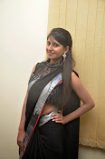 Model Shehnaaz Glam pics in saree-thumbnail-3
