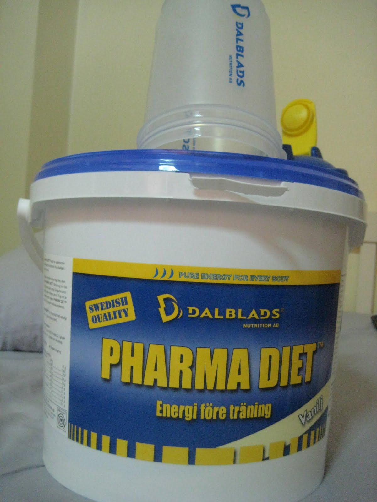 dalblads pharma diet