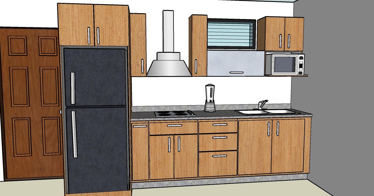 Dietomuebles cocinas empotradas dise o personalizado for Disenos de cocinas para apartamentos