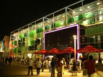 Aichi Expo 2005 Night Visit.