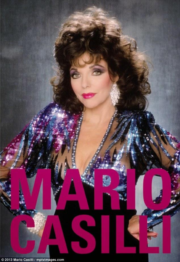 80s makeup movie star Joan Collins