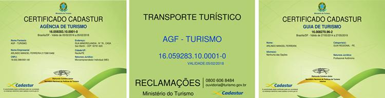 AGF- TURISMO PASSEIOS E TRASLADOS