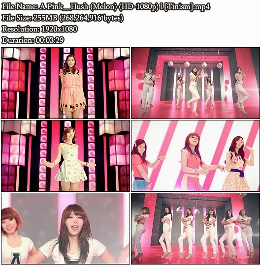 MV A Pink - Hush (Melon Full HD 1080p)