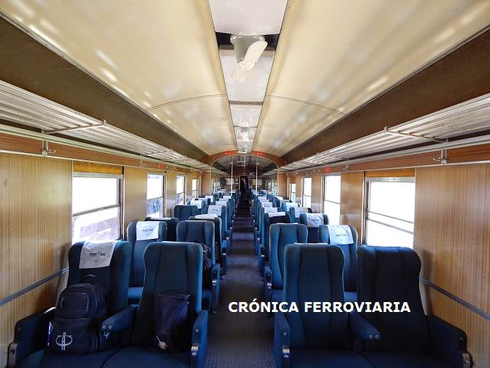 Viaje del tren Realicó - General Pico (La Pampa)