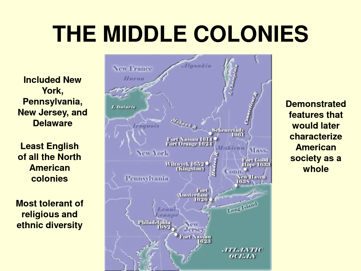 a discussion on life in colonies Directly or indirectly, the economies of all 13 british colonies in north america  depended on slavery by the 1620s, the labor-intensive cultivation of tobacco for .