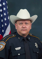 """Deputy Darren Goforth.  The manhunt for the lone gunman stretched into Saturday afternoon as authorities pleaded for the public to provide any tips about the shooting. Investigators said they believed Hickman was targeted for his uniform and described the working motive as """"absolute madness.""""  But in speaking about the incident, authorities also referenced the broader national conversation regarding the relationship between law enforcement and they communities they police. Hickman said there was a """"dangerous national rhetoric"""" regarding police.  """"At any point where the rhetoric ramps up to the point where calculated,"""