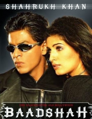 Poster Of Bollywood Movie Baadshah (1999) 300MB Compressed Small Size Pc Movie Free Download exp3rto.com