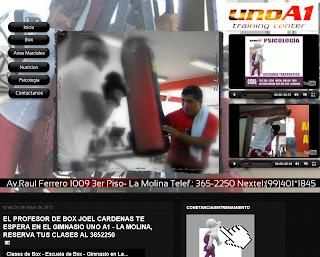 Cliente: Personal Trainer UnoA1