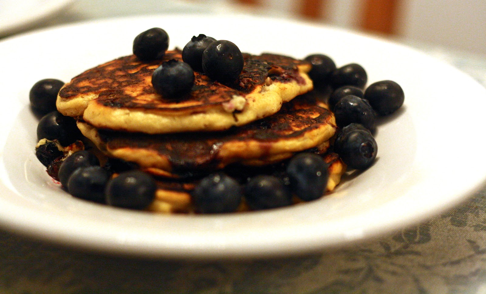 Table For Two: Blueberry Lemon Yogurt Pancakes (Gluten-Free)