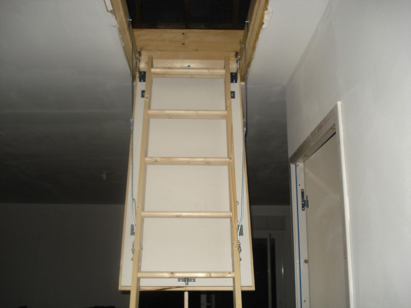 poser un escalier escamotable trendy escalier escamotable garage attic stair with poser un. Black Bedroom Furniture Sets. Home Design Ideas