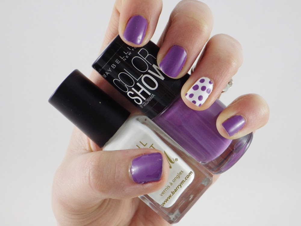 Very easy nail art the dotty accent nail ramblings of a beauty very easy nail art the dotty accent nail prinsesfo Image collections