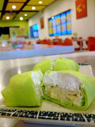 Medan. Saat berkunjung ke Medan, salah satu olahan durian yang paling