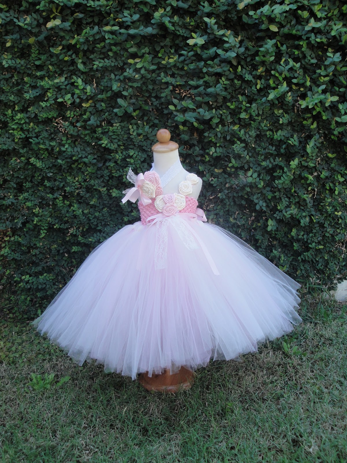 VINTAGE BABY WEDDING DRESS