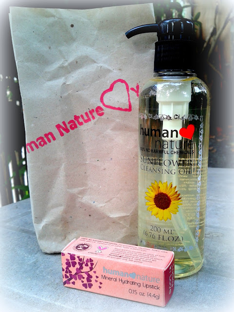 Human Heart Nature Stash, Beauty Oil and Lipstick