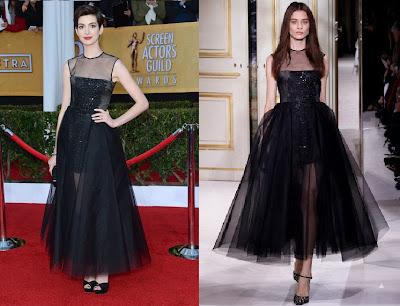 Vestidos negros de famosas