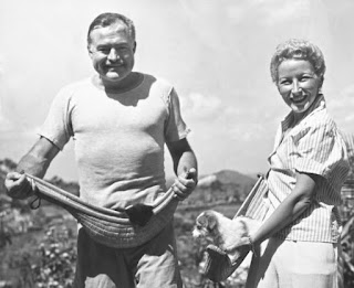 Hemingway with Mary Welsh