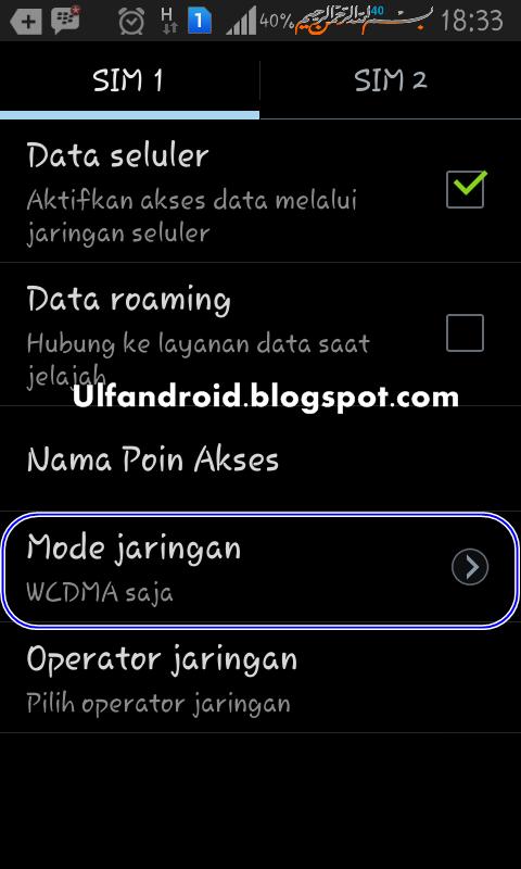 Cara Memperkuat Sinyal 3G Android