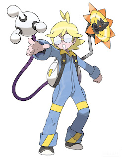 Clemont Team Lider Pokemon X Pokemon Y