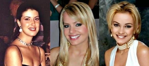 Misses Universo Brasil 1994, 1995 e 1996