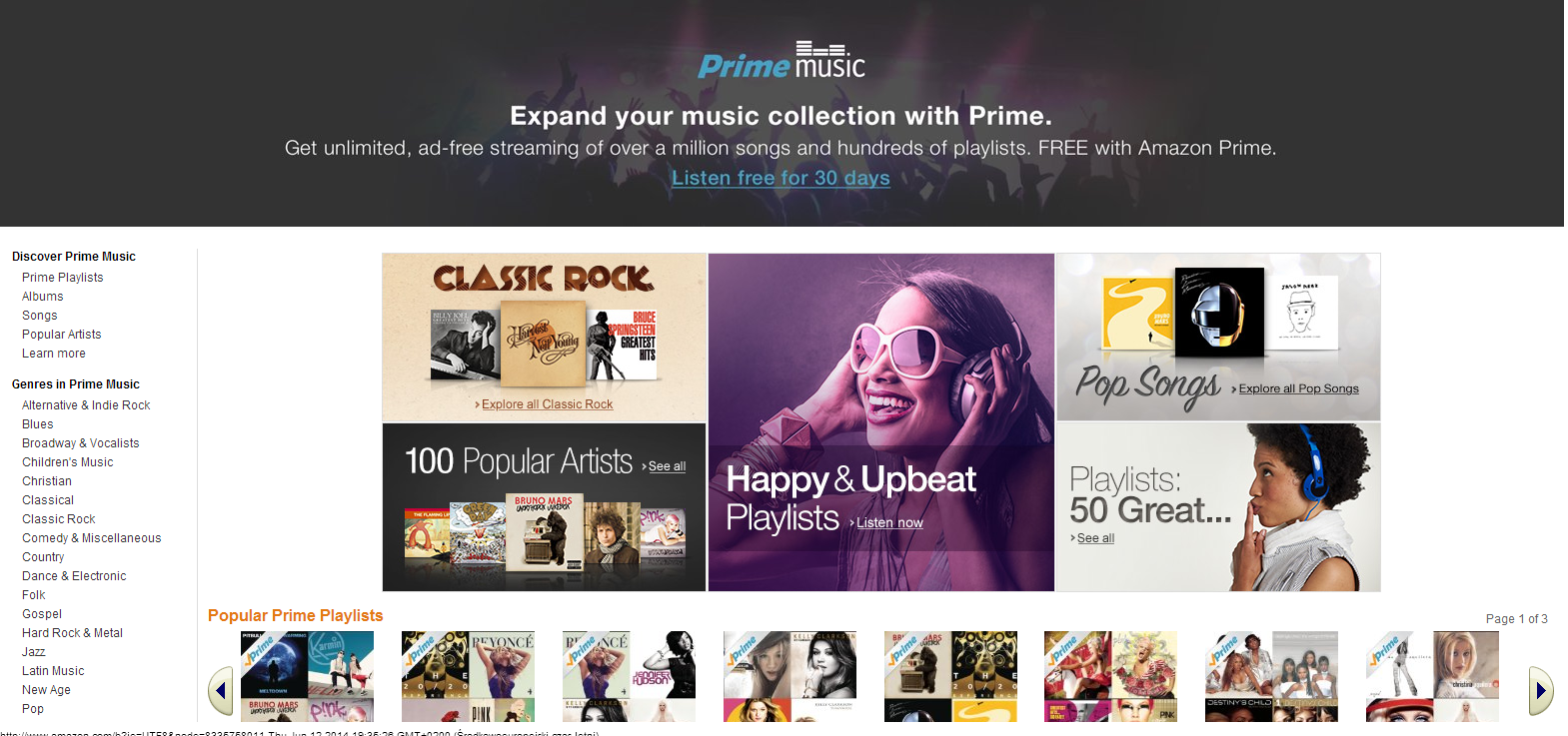 how to cancel amazon prime free trial 2014