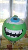 Piñata rigolote monstre