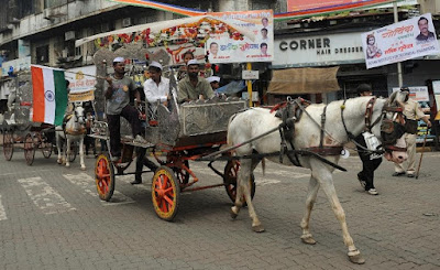 Indian court bans Mumbai's horse-drawn carriages
