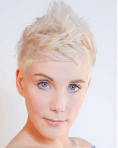 Fab Short Layered Pixie Haircut 2014