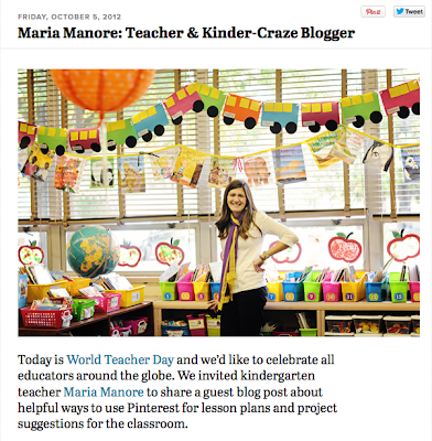 Maria Manore's guest post on the Pinterest blog