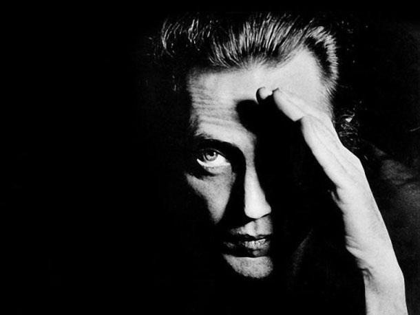 Fotografias a preto e branco de celebridades - Christopher Walken
