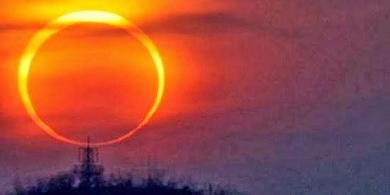 Yuk Solat Gerhana untuk Gerhana Matahari Hari Ini