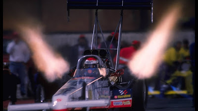 Dragster Accelerating