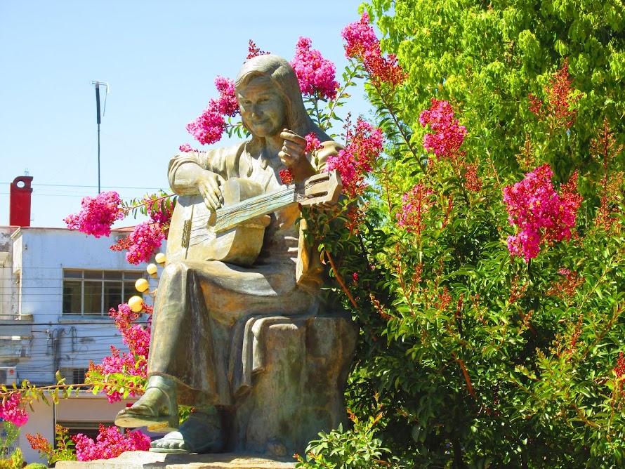 Homenaje a Violeta Parra - Plaza de Armas San Carlos