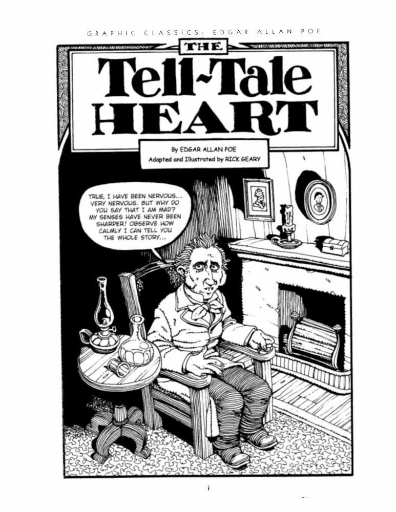 TellTale Heart Comic Strip – The Tell Tale Heart Worksheets