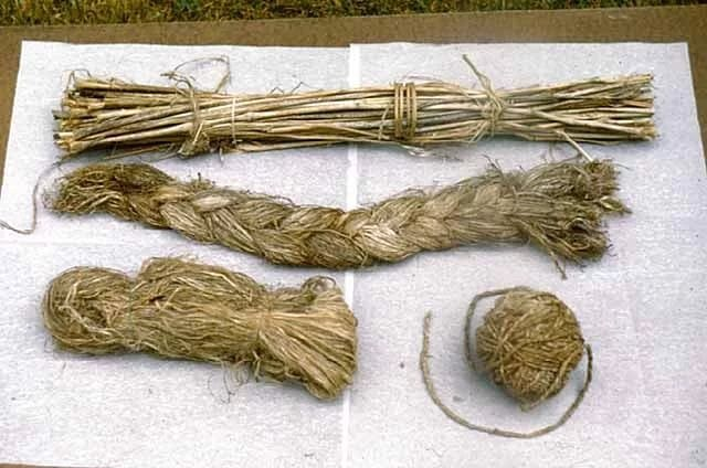 Веревка из крапивы своими руками 5
