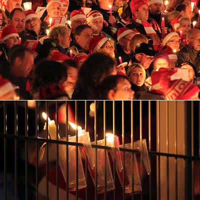 Weihnachtssingen im Union-Stadion, Berlin