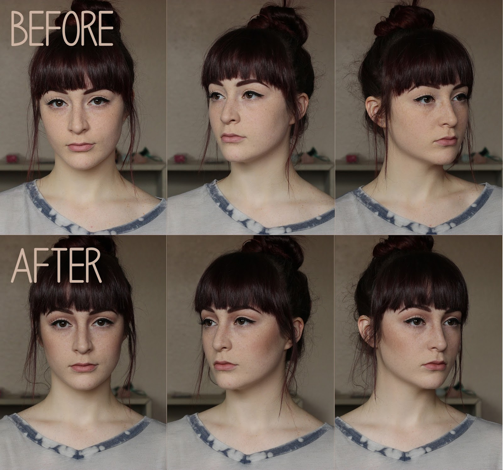 cheek contour before and after. contouring is such a cool way to give dimension your face. i hope this was helpful! so confused when started trying figure out contour last cheek before and after
