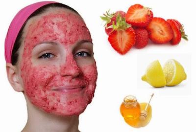 Cara membuat masker wajah alami dari strawberry