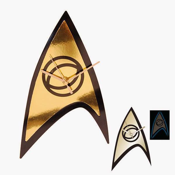 Reloj de Pared Star Trek Emblema Federación