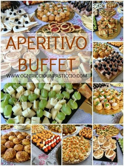 ricette per antipasti aperitivi e buffet