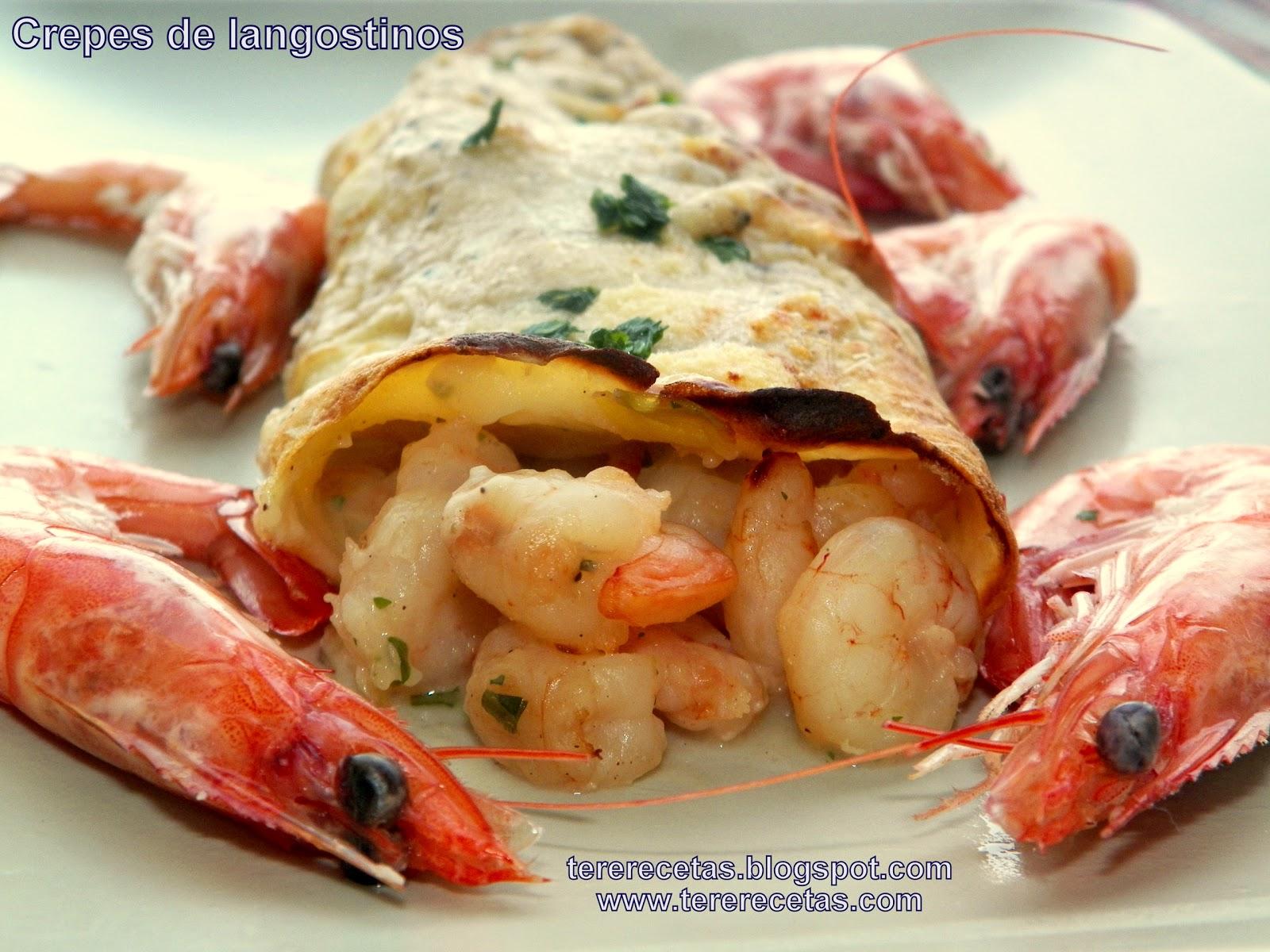 Las recetas de tere blog de recetas de cocina f ciles y - Ingredientes para crepes ...