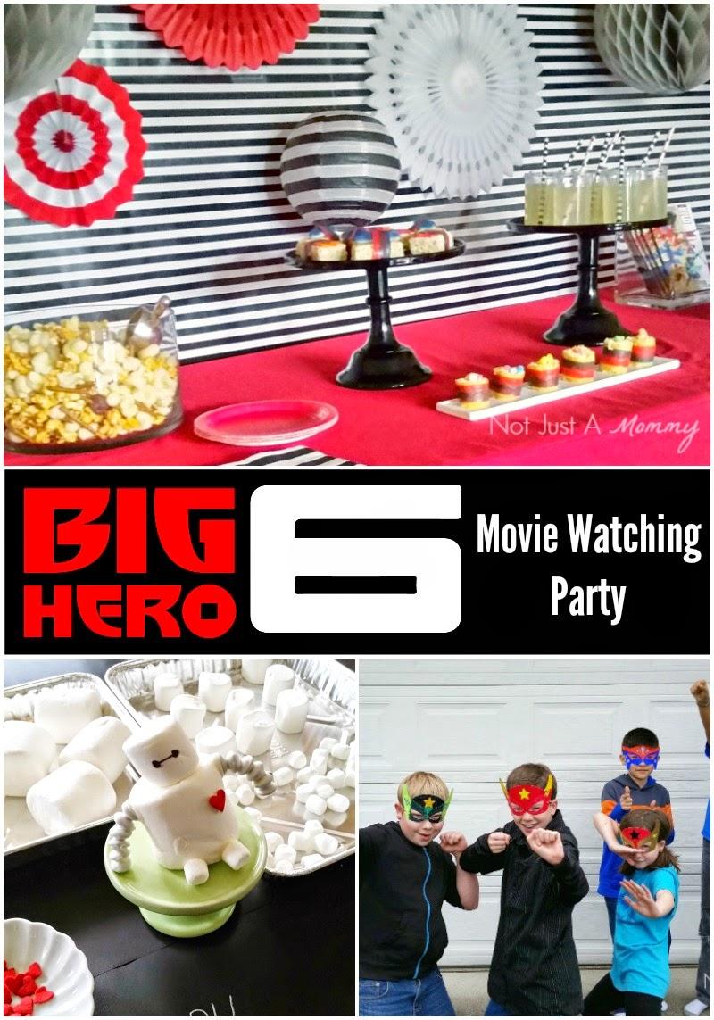 Big Hero 6 Movie Watching Party