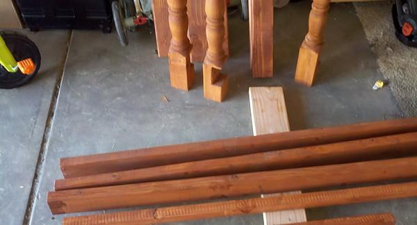 Reparar una pata de madera hogar y bricolaje - Pasta para reparar madera ...
