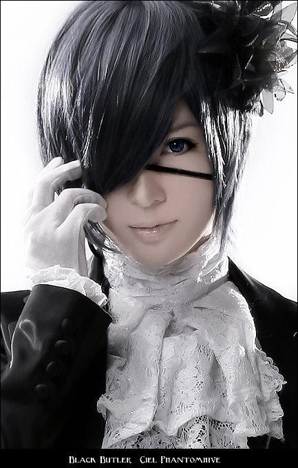 Black Butler コスプレ Ciel Phantomhive I Love
