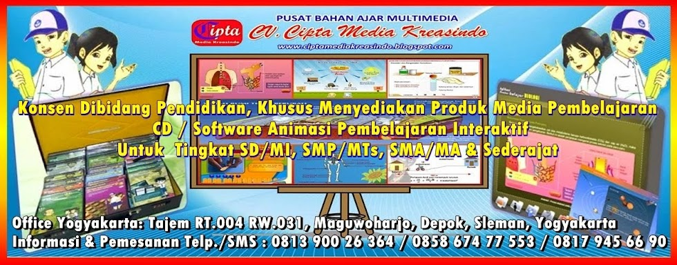 CD PEMBELAJARAN INTERAKTIF SMP/MTS