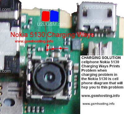 Nokia 5130 show not charging Problem, Solution Ways.