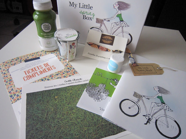 my little spring box contenu