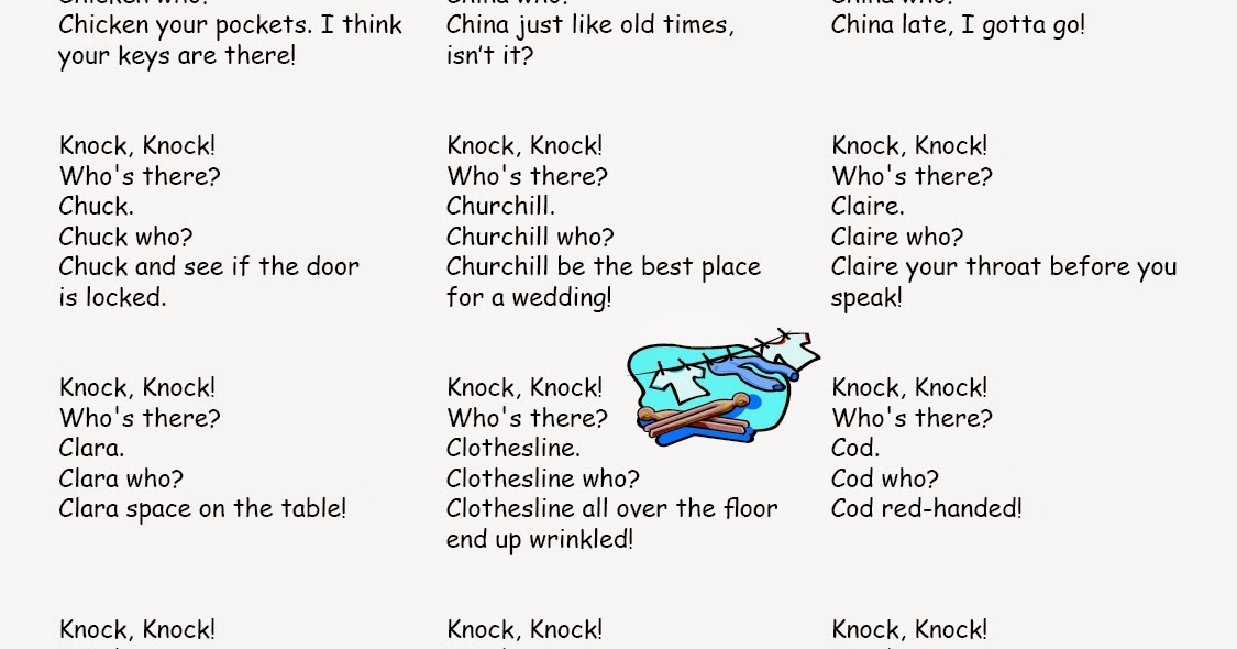 Funny Gag: Funny Knock Knock Jokes for Kids