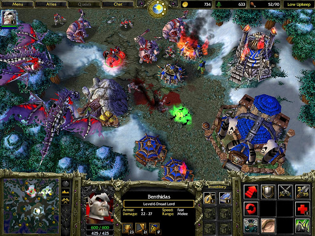 Warcraft III Reign of Chaos PC Game