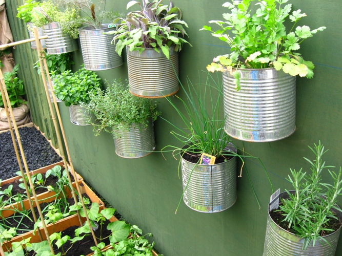 shares some great ideas for your herb garden d esign…