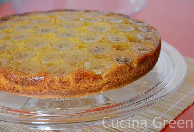 torta banane soffice semplicissima